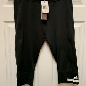 Adidas by Stella McCartney 3/4 Black Leggings